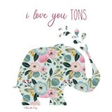 Love You Tons Art Print