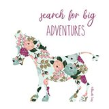 Search for Big Adventures Art Print
