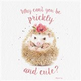 Prickly and Cute Art Print