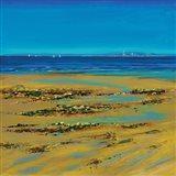 Coastal Colour Strip I Art Print