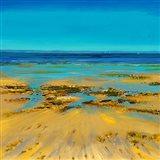 Coastal Colour Strip II Art Print