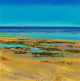 Coastal Colour Strip III Art Print