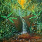 Jungle Pool Art Print