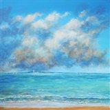 Cloud Colors Art Print