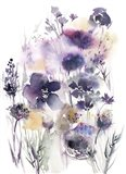 Purple Flower Majesty Art Print