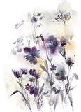 Purple Flower Majesty II Art Print