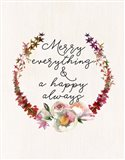 Merry Everything Art Print
