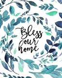 Bless Our Home Art Print