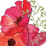 Vibrant Floral I Art Print