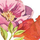 Vibrant Floral II Art Print