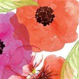 Vibrant Floral IV Art Print