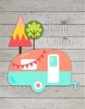 Happy Camper II Art Print