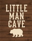 Little Man Cave Art Print