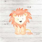 Watercolor Lion Art Print