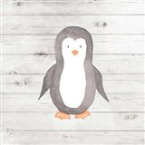 Watercolor Penguin Art Print
