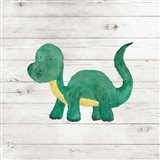Water Color Dino VI Art Print