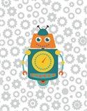 Robot IV Art Print