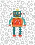 Robot VI Art Print