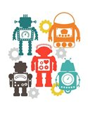 Robot Combo Art Print