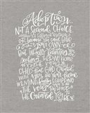 Adoption Art Print