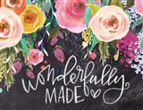 Wonderfully Made Art Print