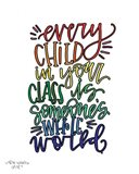 Every Child Colorful Art Print
