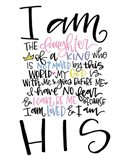 I am the Daughter Art Print