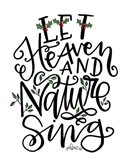Let Heave and Nature Sing Art Print