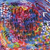 God Made You Special Art Print