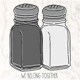 Salt 'n Pepper Art Print