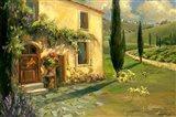 Tuscan Spring Art Print