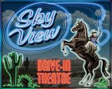 Skyview Drive In II Art Print