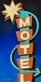 Hotel Motel Art Print