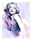 Marilyn's Pose Art Print