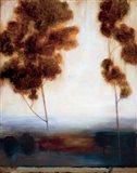 Through the Trees II Art Print