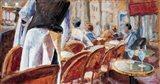 Cafe Terrace Art Print