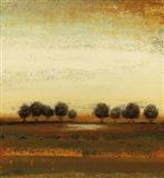 Rusted Treeline Art Print