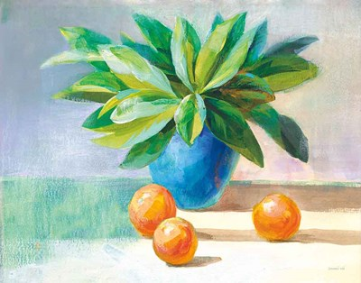 Citrus Still Life Art Print by Nai
