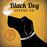 Black Dog Coffee Co. Art Print