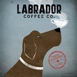 Labrador Coffee Co. Art Print