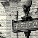 Metro I Crop Art Print