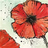 Not a California Poppy IV Art Print