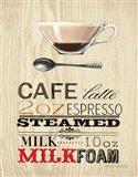 Cafe Latte Art Print