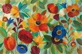 Summer Floral V Art Print