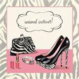 Animal Instinct Art Print