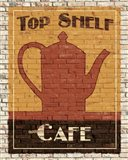 Top Shelf Cafe Art Print