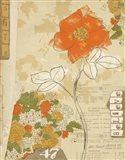 Collaged Botanicals I Art Print