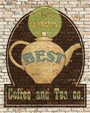 Best Coffee and Tea Art Print