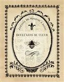 Paris Bees II Art Print