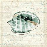 Ocean Prints I Art Print